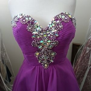Blush Dresses - Blush Prom style 9883 in Violet sz12 *price firm